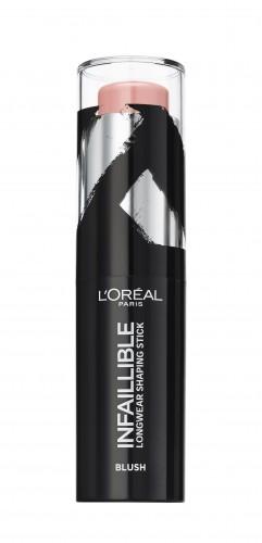 Fard de obraz stick L'Oreal Paris Infaillible Shaping Stick 001 Sexy Flush - 9g