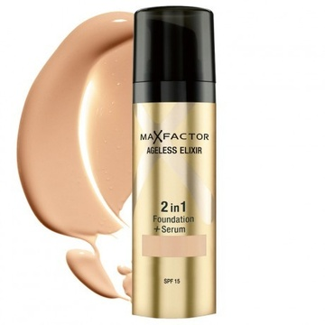 Poze Fond de ten Max Factor Ageless Elixir 2 in 1 60 Sand