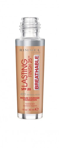 Poze Fond de ten Rimmel Lasting Finish Breathable 400 30ml