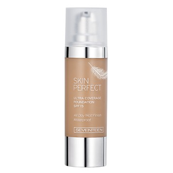 Poze Fond de ten Seventeen Skin Perfect Ultra Coverage Waterproof Foundation  No 06