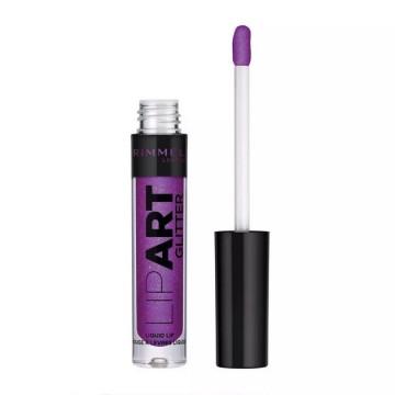 Gloss de buze lichid Rimmel Lip Art Glitter 150 9 Lives, 2 ml