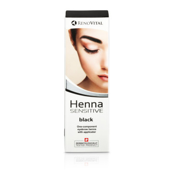 Poze Henna Vopsea Crema pentru sprancene 6g