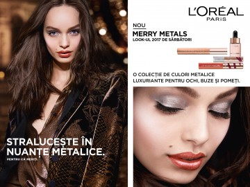 Poze Iluminator lichid L'Oreal Paris Merry Metals Glow Drops 15ml