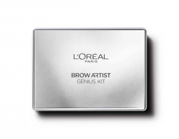 Poze Kit pentru sprancene L'Oreal Paris Brow Artist Genius Kit 02 Medium to Dark - 3.5 g
