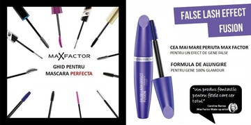 Poze Mascara Max Factor False Lash Effect Fussion, Black