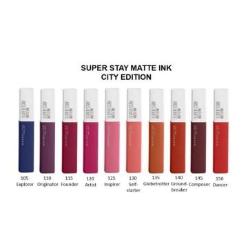 Maybelline New York SuperStay Matte Ink Bricks Ruj lichid mat- 5ml, 120 Artist