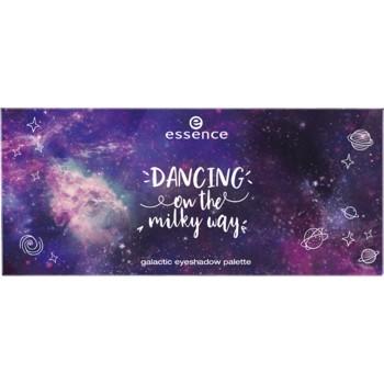 Paleta farduri de ochi Essence dancing on the milky way galactic eyeshadow palette 01