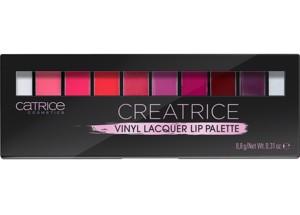 Poze Paleta rujuri Catrice Creatrice Vinyl Lacquer Lip Palette 020 8,8g