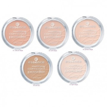 Poze Pudra Essence Mattifying Compact 10 Light Beige, 12 gr