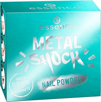 Poze Pudra pentru unghii Essencemetal shock nail powder 06 Be my little mermaid
