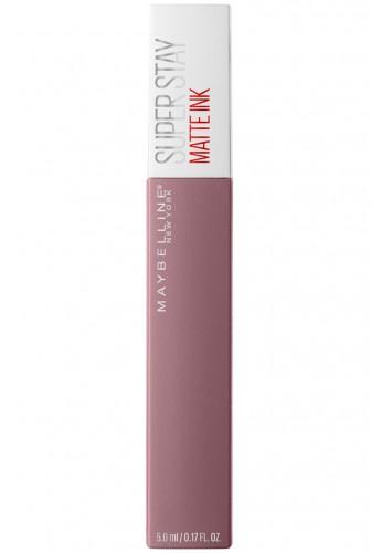 Ruj lichid mat Maybelline New York Superstay Matte Ink cu rezistenta de pana la 16H 95 Visionary -5ml