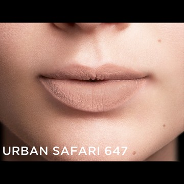 Poze Ruj mat Color Riche x Balmain 647 Urban Safari
