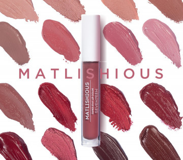 Ruj mat Seventeen MATLISHIOUS SUPER STAY LIP COLOR No 12