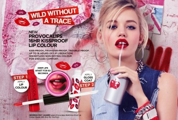 Ruj rezistent la transfer Rimmel Provocalips 550 Play With Fire