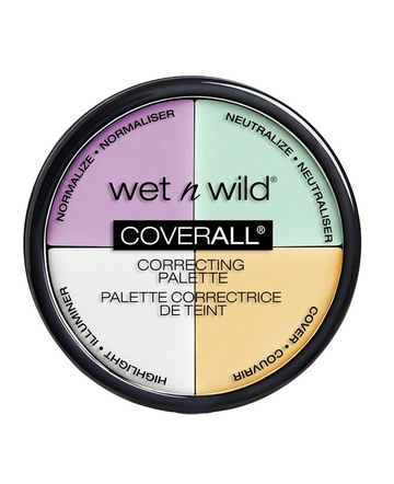 Poze Anticearcan Wet n Wild CoverAll Concealer Palette, 6.5 g