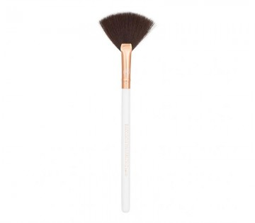Poze Boozy Cosmetics 3400 Precision Fan Brush Rose Gold