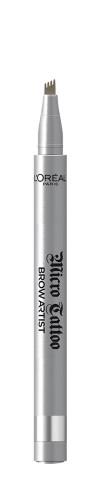 Creion de sprancene cu varf tip carioca L'Oreal Paris Brow Artist Micro Tattoo 105 Brunette - 5g