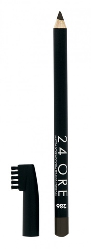 Poze Creion pentru sprancene Deborah 24Ore Eyebrow Pencil 286 Dark Chocolat, 1 g