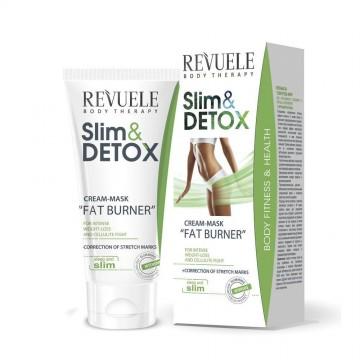 Poze Crema masca Revuele Fat Burner Slim&Detox Cream Mask 200 ml