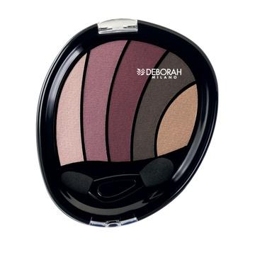 Fard de pleoape Deborah Perfect Smokey Eye Palette 02 Rose, 5 g