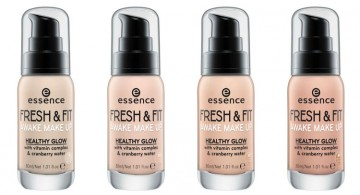 Poze Fond de ten Essnce FRESH & FIT AWAKE MAKE UP 10 Fresh ivory 30ml