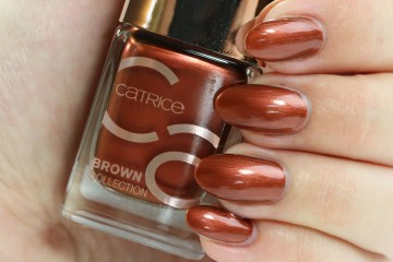 Poze Lac de unghii Catrice Brown Collection Nail Lacquer 03 Goddess of Bronze