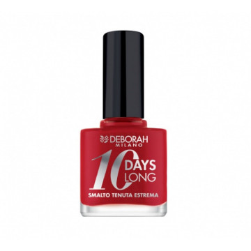 Lac de unghii Deborah 10 Days Long Nail Polish 904 Red Rose