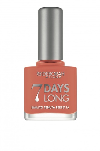 """Lac de unghii Deborah """"7 Days Long"""" 871 Apricot range, 11 ml"""