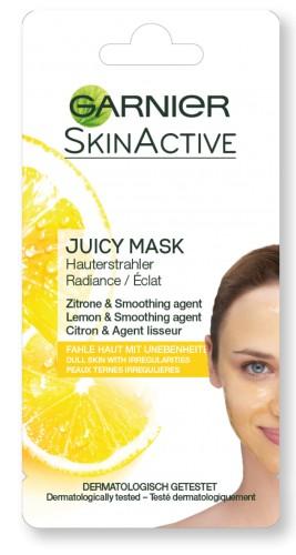 Poze Masca de fata pentru iluminarea tenului Garnier cu Lamaie, pentru tenul tern cu imperfectiuni 8 ml
