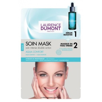 Poze Masca servetel Loua Mask Facial Sheet Mask Ultra-Hydrating En Tissu 23 ml