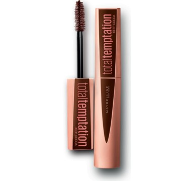 Maybelline New York Mascara volum Total Temptation Deep Cocoa, 10.7ml