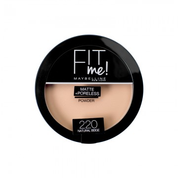 Pudra compacta matifianta Maybelline New York Fit Me Matte & Poreless 220 Natural Beige14g