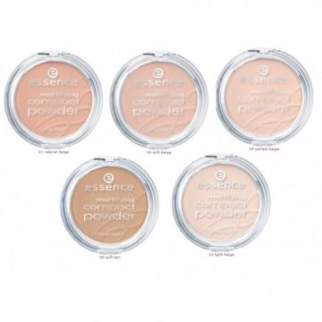 Pudra Essence Mattifying Compact 11 Pastel Beige,12 gr
