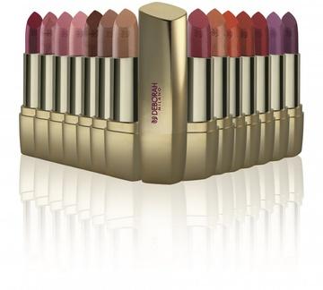 Ruj Deborah Milano Red Lipstick 15 Plum Leggings, 4.4 g