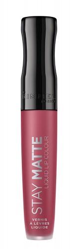 Poze Ruj lichid mat Rimmel Stay Matte 210 Rose&Shine