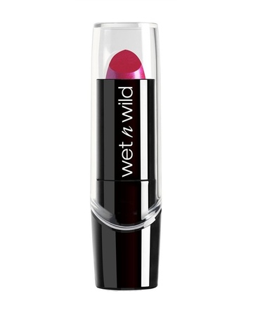 Poze Ruj Wet n Wild Silk Finish Lipstick Fuchsia with Blue Pearl, 3.6 g
