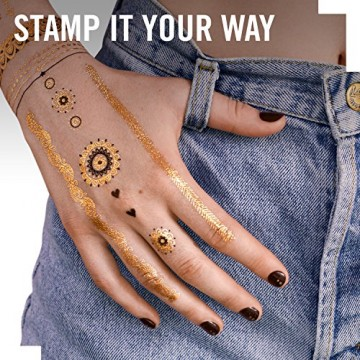 Tatuaje temporare Rimmel INK ME, 001, 2 folii