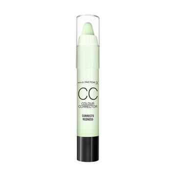 Corector Max Factor  Colour Corrector Stick Green  -  Redness