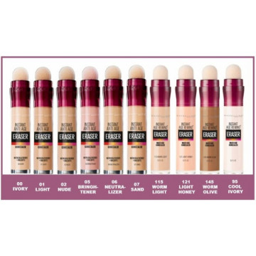 Corector universal Maybelline New YorkInstant Anti Age Eraser, 95 COOL IVORY, 6.8ml