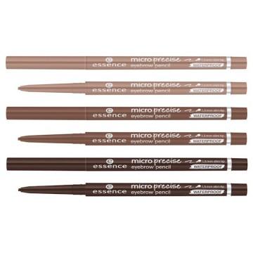 Creion pentru sprancene Essence MICRO PRECISE EYEBROW PENCIL 02 light brown