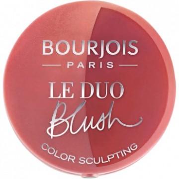Poze Fard de obraz Bourjois Duo Blush Carameli Melo 03