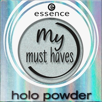 Fard de ochi Essence my must haves holo powder 04 Mint muse
