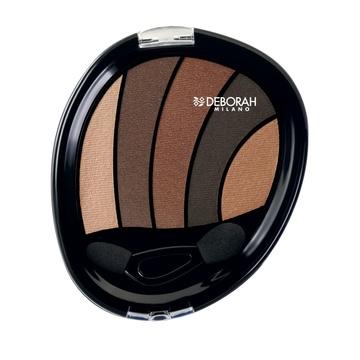 Poze Fard de pleoape Deborah Perfect Smokey Eye Palette 01 Bronze, 5 g