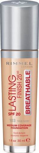 Poze Fond de ten Rimmel Lasting Finish Breathable 103 30ml