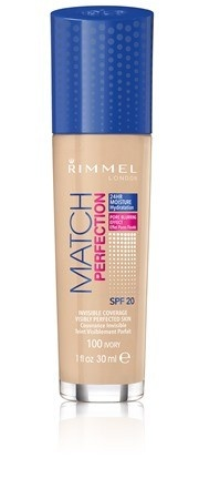 Poze Fond de ten Rimmel Match Perfection, 100 Ivory