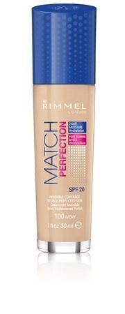 Fond de ten Rimmel Match Perfection, 100 Ivory