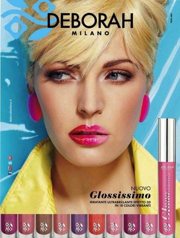 Gloss Deborah Glossissimo  11 Lovely Red, 4 g