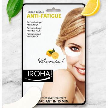 Masca antioboseala Iroha Hydrogel Patches Anti-Fatigue Eyes Vitamin C