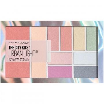 Paleta multifunctionala pentru ochi si pometi Maybelline New York City Kits Urban Light - 12g
