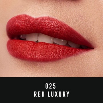 Poze Ruj de buze lichid Max Factor Velvet Matte, 25 Red Luxury, 3.5 ml